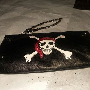 wristlet new w/o tag faux leather